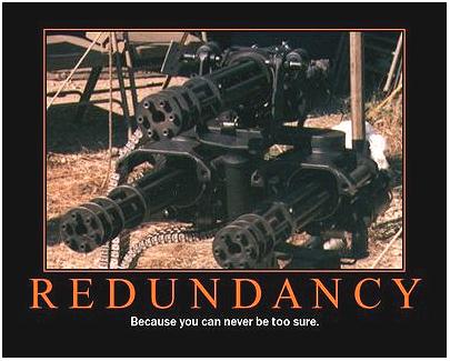 Redundency - 3 Chain Guns