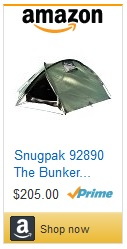 Snugpak The Bunker Tent for sale on amazon - click here