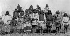Chief Geronimo and Apache indians