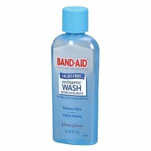 BandAid Wound Wash