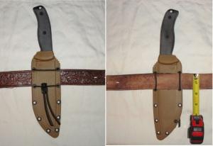ESEE-6 Rowan Randall knife
