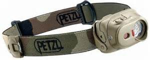 Petzel Tactikka XP headlamp