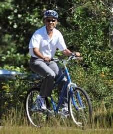 Obama on Bike - Beta or Omega
