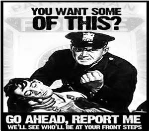 Police Abuse, police state, intimidate