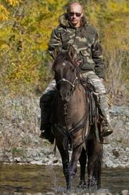 Putin On Horse - Alpha
