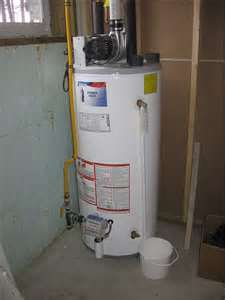 Hot water tank = water storage.