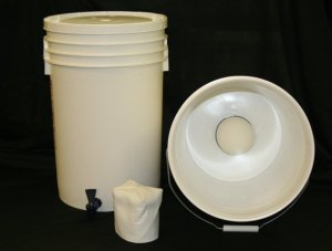 Monolithic ceramic water filter and purification system.