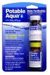 portable aqua water purification tablets