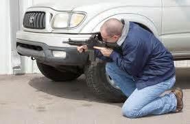 Seek cover during gun fight.