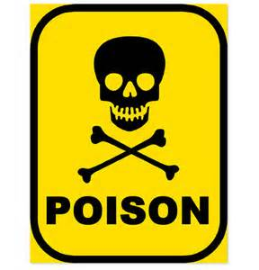 Poison chemicals