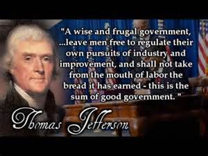 Wise Government - Thomas Jefferson