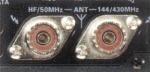Yaesu FT-897D dual antenna hook-up.