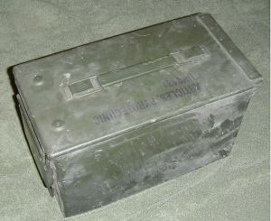 50cal ammo can - survival cache