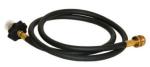 Coleman EvenTemp InstaStart 3-Burner Propane Stove propane bottle hose and adapter