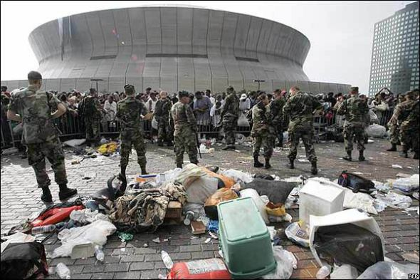 FEMA disaster during Katrina