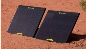 Goal Zero Boulder 30w solar panels