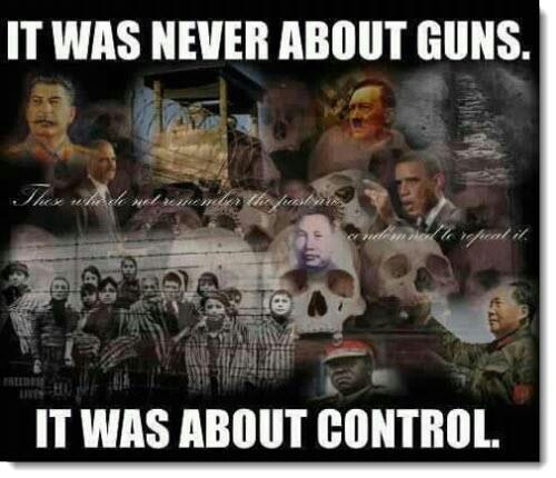 gun control violates the Bill of Rights and loved by statists
