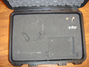 Yaesu FT-897D support hardcase contents