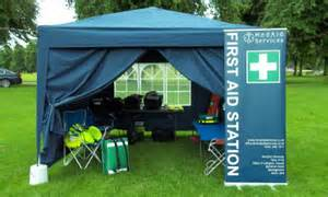 Medical Aid Station & first aid for prepper group