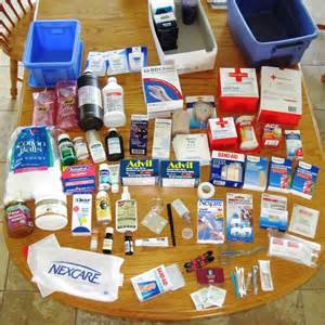 Medical Supplies for preppers grid-down