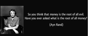 Money and Power - Ayn Rand