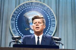 President John F. Kennedy was a powerful politician from a powerful political criminal family
