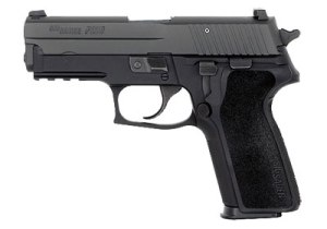 Sig Sauer P229 .40cal S&W for high capacity conceal carry with lots of power