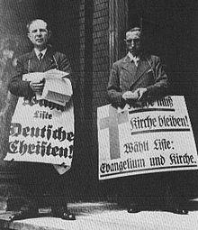confessing church Dietrich Bonhoeffer nazi germany