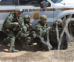 BLM forces prepare to open fire with automatic weapons on American citiznes protestnig at the Bundy Ranch