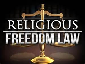 Religious freedom law support for religious freedom from LGBT extremists
