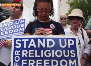 Christians deserve protection of freedom of religion from LGBT and government persecution