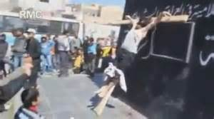Christians are being killed all over africa and the middle-east, chrsitians are being crucified