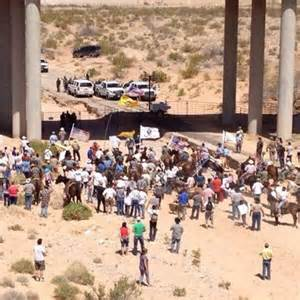 Bundy ranch stand-off with BLM nevada