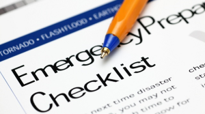 family Emergency Preparedness to mitigate risk during emergency disaster grid-down risk management