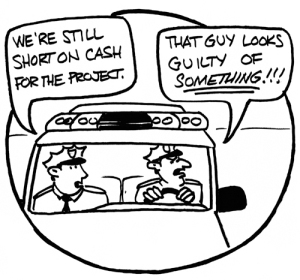 Civil Asset Forfeiture - theft by police law enforcement stealing from citizens