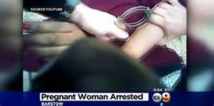Cops police abuse Pregnant Woman in Barstow