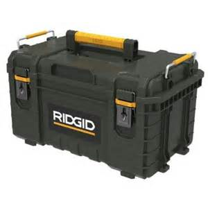 "Rigid Professional Tool Storage System 22"" Too Box"