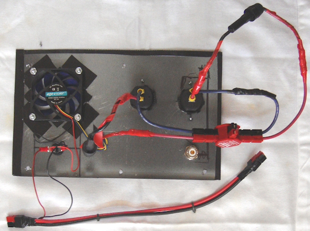 front panel wiring layout