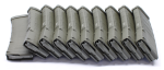 Magpul PMAG M2 MOE 30 Round 5.56x45 AR15/M16 Magazine - Olive Drab Green - MAG571-ODG out of Package--10 pack