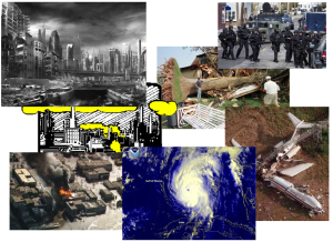 types of disasters, emergies, emergency grid-down