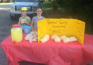 Criminal lemonade stand operation in Overton, Texas