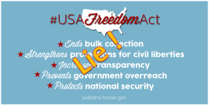 Freedom Act is a lie and unconstitutional