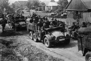 Nazis Invade Poland at the start of WWII  WW2