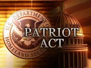 we are being lied to about the Patriot Act