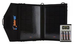 SolPad7 Solaraid AA & AAA battery charger.
