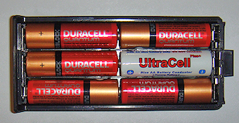 UltraCell dummy battery with battery case