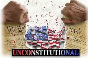 the patriot act is Unconstitutional