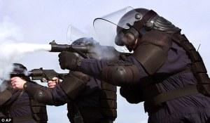Utah police training with grenade launchers
