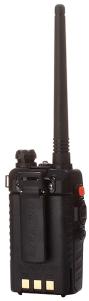 Baofeng UV-5R radio with beltclip