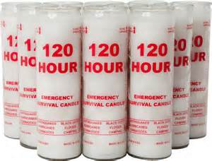 120 hour emergency candles